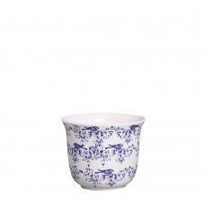 343375 - CACHEPOT LISO GRANDE COLONIAL CHINESA AZUL