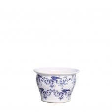 343582 - CACHEPOT MEDIO COLONIAL CHINESA AZUL