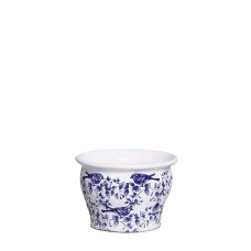 343583 - CACHEPOT PEQUENO COLONIAL CHINESA AZUL