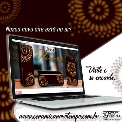 Acessem: www.ceramicanovotempo.com.br  Nosso site renovado especialmente para você!  #site #cores #lançamentos #abcasa #novidades #ceramica #decoração #vasos #cachepots #inspiração #beleza #instadecor #ceramicanovotempo #casa #decorstyle #design #designdeinteriores #instadecor #instadesign #arranjos #arranjosflorais #lojistas #atacado #portoferreira
